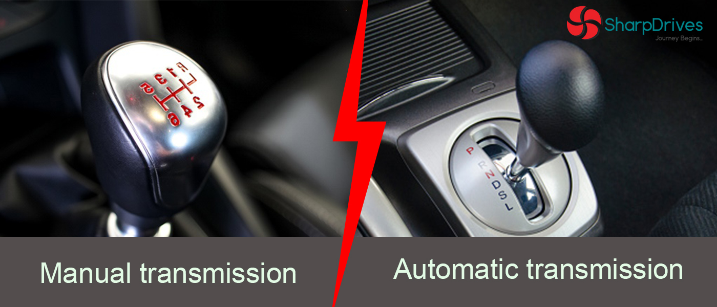 Difference between Manual Gear and Automatic Car - SharpDrives Blog