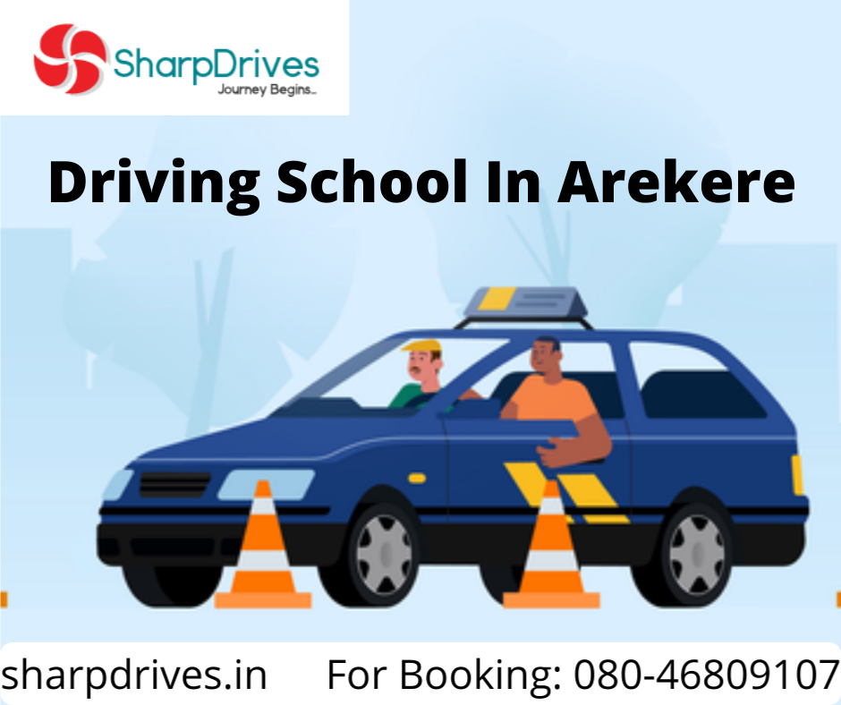 Driving School In Arekere | SharpDrives