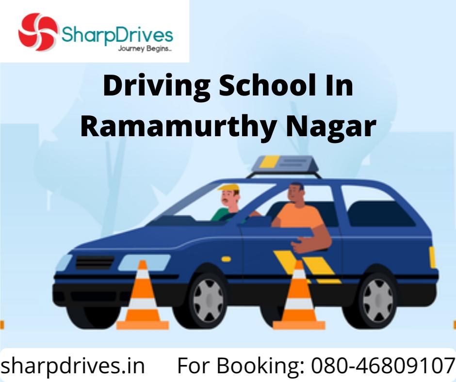 Driving School In Ramamurthy Nagar | SharpDrives