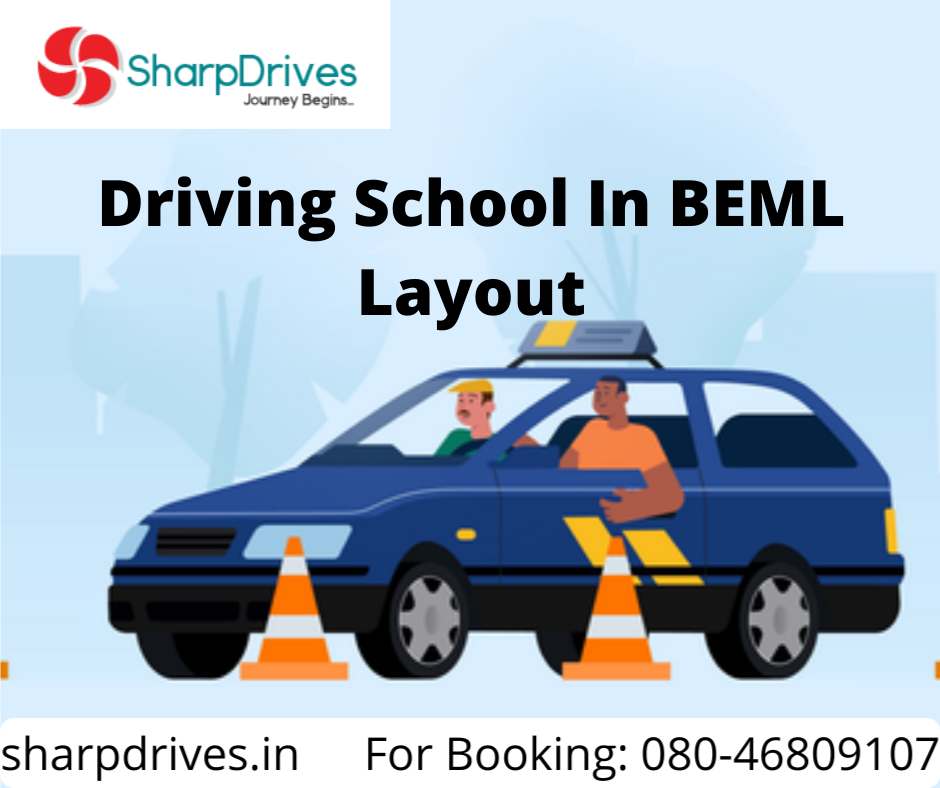 Driving School In BEML Layout | SharpDrives