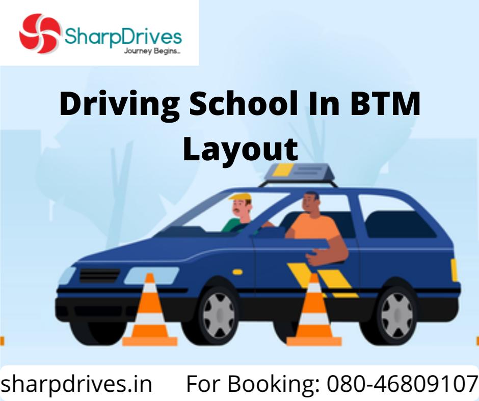 Driving School In BTM Layout | SharpDrives